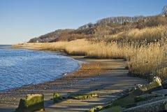 Atlantic Highlands Shoreline stock photography
