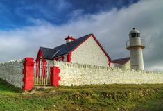 Atlantic lighthouse in Dingle Stock Images