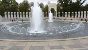 Atlantic Memorial Fountains Royalty Free Stock Photos