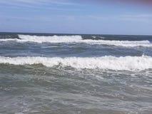 Atlantic Ocean övre sikt Royaltyfria Bilder
