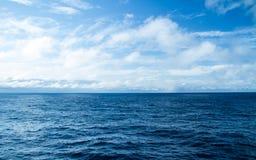 Atlantic Ocean övre sikt Royaltyfri Bild