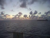 Atlantic Ocean övre sikt royaltyfri fotografi
