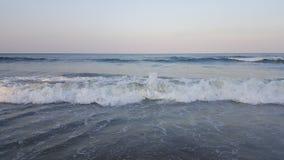 Atlantic Ocean övre sikt Arkivfoto