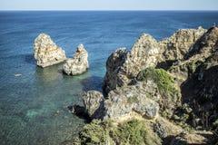 Atlantic Ocean övre sikt royaltyfri foto