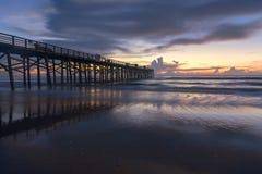Atlantic Ocean над восходом солнца стоковое изображение rf