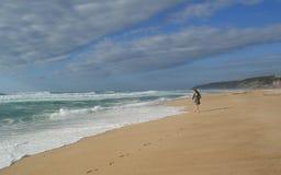Atlantic Ocean, Португалия Стоковая Фотография