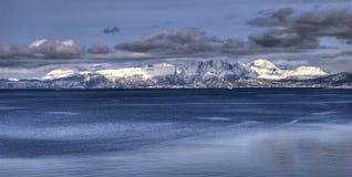 Atlantic ocean. The atlantic ocean seen from harstad norway Royalty Free Stock Photo