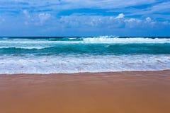 Atlantic ocean beach, Portugal Royalty Free Stock Photography