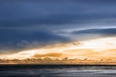 Atlantic ocean in Beal county Kerry Ireland Stock Image