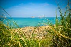 Atlantic ocean in Brittany, France Stock Photos