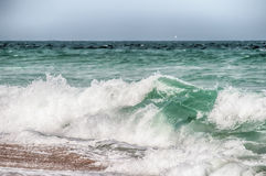 Atlantic Ocean at Cape Hatteras North Carolina Stock Photos