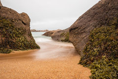 Atlantic ocean coast in Brittany Stock Photography
