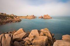 Atlantic ocean coast in Brittany Stock Photography