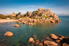 Atlantic ocean coast in Brittany Royalty Free Stock Images