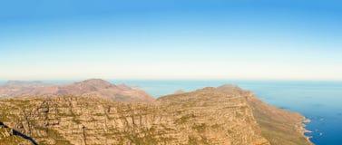 Atlantic ocean coast line near Cape Town. Royalty Free Stock Image