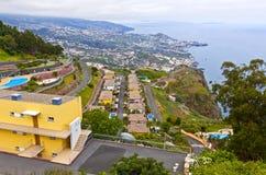 Atlantic Ocean coast on Madeira island, Portugal Stock Photo