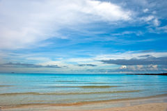 Atlantic ocean coast, Miami Stock Image