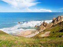 Atlantic ocean coast Royalty Free Stock Photo