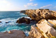 Atlantic ocean coast Royalty Free Stock Photos