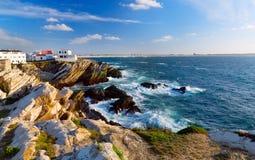 Atlantic ocean coast Royalty Free Stock Images