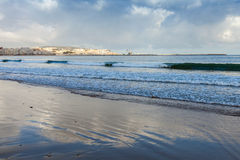 Atlantic ocean, coastal Landscape, Tangier, Morocco Stock Photo