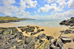 Atlantic ocean coastline in Ireland Royalty Free Stock Images