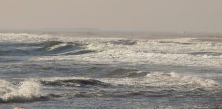 Atlantic Ocean Nor Eastern storm royalty free stock images
