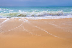 Atlantic ocean, front view of waves Stock Photography