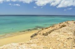 Atlantic Ocean in Fuerteventura, Canary Islands Royalty Free Stock Photos