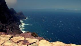 Atlantic ocean in full HD. stock video