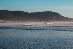 Atlantic Ocean kust, Marocko Fotografering för Bildbyråer