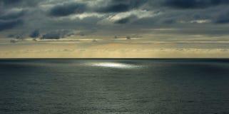 Atlantic Ocean kust, Sagres, Portugal fotografering för bildbyråer