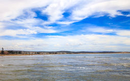 Atlantic Ocean landscape, Morocco Stock Photography