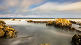 Atlantic Ocean - Long exposure Royalty Free Stock Photography