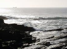 Atlantic ocean near hook lighthouse Royalty Free Stock Images