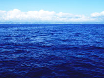 The Atlantic Ocean near Sao Miguel, Azores Stock Photography