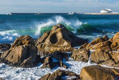 Atlantic Ocean in Porto Royalty Free Stock Images