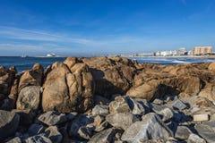 Atlantic Ocean in Porto Royalty Free Stock Image