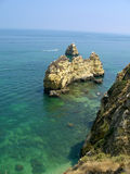 Atlantic ocean in Portugal Royalty Free Stock Photography