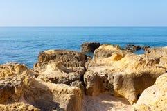 Atlantic Ocean in Portugal Royalty Free Stock Image