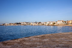 Atlantic Ocean Promenade in Cascais Royalty Free Stock Photography