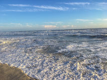 Atlantic Ocean Receding Tide Stock Photos