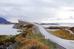 Free Atlantic Ocean Road, Averøy, Norway, 10/8/2017, Optical Illusion Stock Photos - 107635313