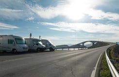 The Atlantic Ocean Road Stock Photos