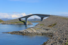 Atlantic Ocean Road. Norway Royalty Free Stock Photo