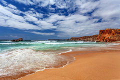 Atlantic ocean - Sagres Algarve Portugal Stock Photography