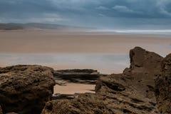 Atlantic Ocean Shore, Morocco Stock Photography