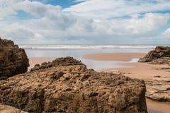 Atlantic Ocean Shore, Morocco Royalty Free Stock Images