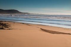 Atlantic Ocean shore in Morocco Royalty Free Stock Photo