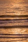 Atlantic ocean at sunset, aerial view Stock Image